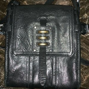 Stylish Black Crossbody Bag